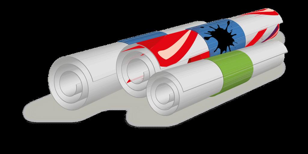 Werbefolien, Klebefolien, Plottfolien - Wir drucken Ihre Werbung - GM Druck Halle