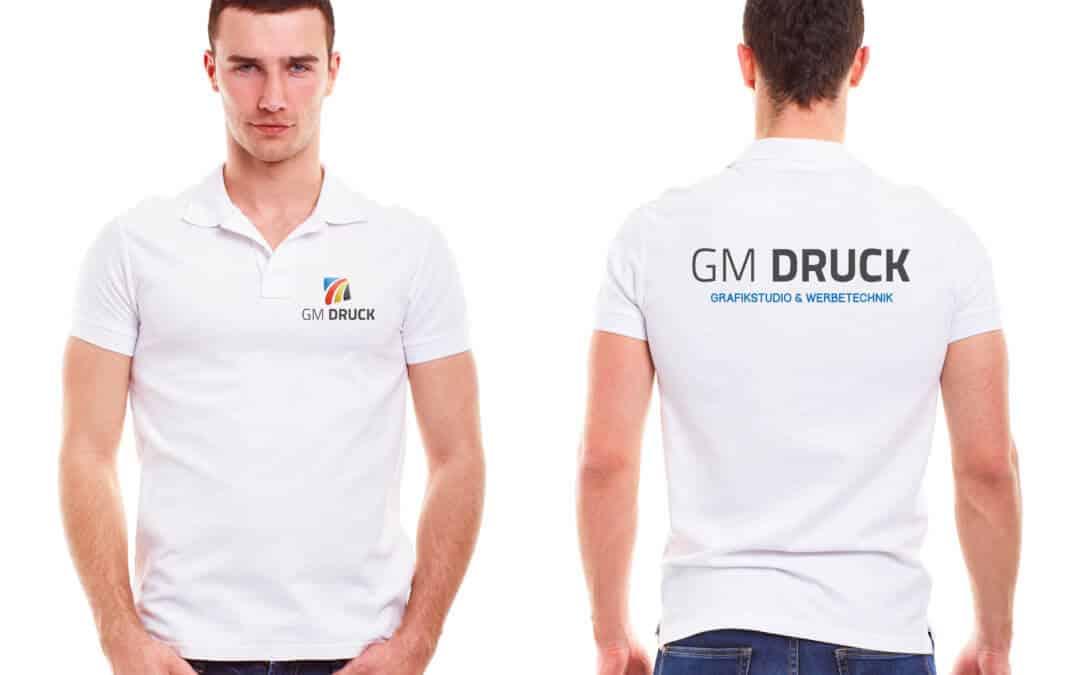 preiswerte Textildruckerei – GM Druck in Halle, wir drucken Ihr Shirt