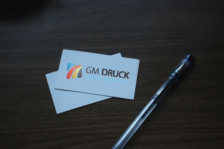 Visitenkarten Drucken Mit Gm Druck Ihre Druckerei In Halle