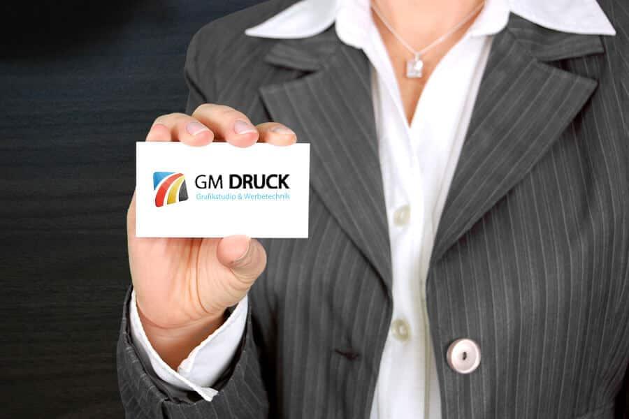 Visitenkarte drucken bei GM Druck – Ihre Digitaldruckerei in Halle